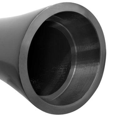 Pipedream Pure Aluminium Black Large Эксклюзивный вибратор большого размера