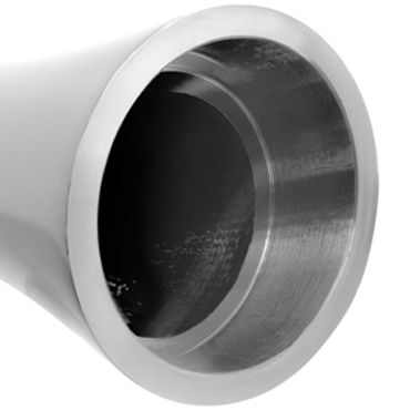 Pipedream Pure Aluminium Silver Large Эксклюзивный вибратор большого размера