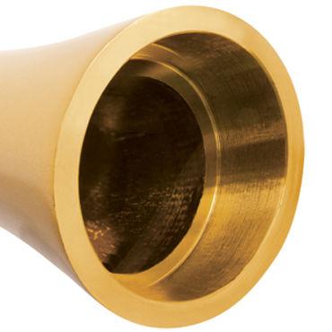 Pipedream Pure Aluminium Gold Large Эксклюзивный вибратор большого размера