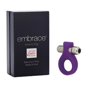 California Exotic Lovers Ring, фиолетовый Эрекционное кольцо с мощной вибрацией