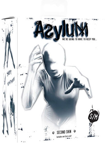 Topco Asylum Second Skin for Her, Сплошной костюм на все тело - Размер S-M