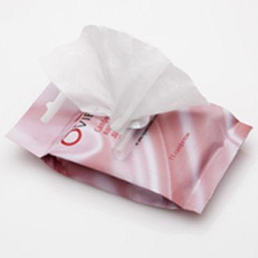 Ovie влажные салфетки, ромашка Пропитаны молочной кислотой
