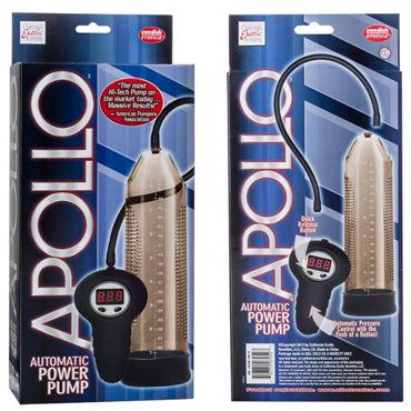 California Exotic Apollo Power Pump, серый Автоматическая мужская помпа