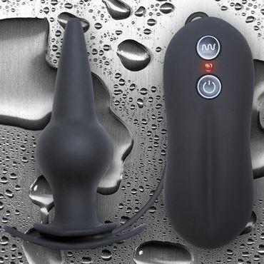 NS Novelties Tinglers Plug II, черный Анальная пробка с вибрацией