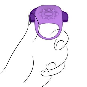 Jopen Key Halo, фиолетовый Виброкольцо со стимуляцией клитора