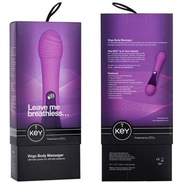 Jopen Key Virgo, фиолетовый Стильный вибромассажер для тела