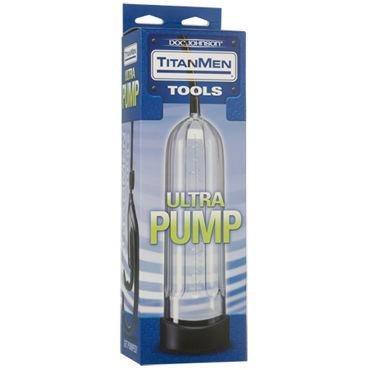 Doc Johnson Titanmen Tools Ultra Pump Вакуумная помпа для полового члена