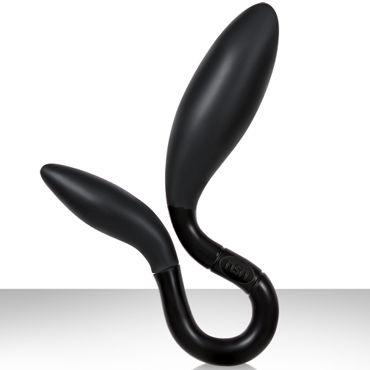 NS Novelties Intrigue Prostate Stimulator, черный Эргономичный массажер простаты