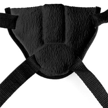 Pipedream Vibrating Plush Harness Трусики с вибропулей для страпона
