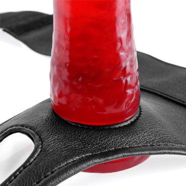 Pipedream Crotchless Harness Трусики с пикантным вырезом для страпона