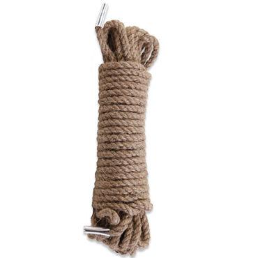 Pipedream Jute Bondage Rope Грубая веревка для бондажа