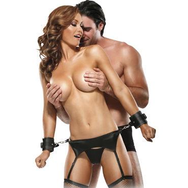 Pipedream Bondage Garter Belt Set Сексапильный комплект для бондажа
