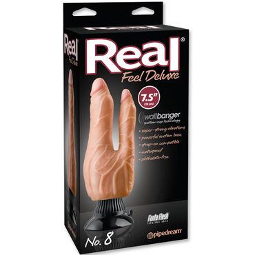 Pipedream Real Feel Deluxe N8 Двойной вибратор-реалистик на присоске