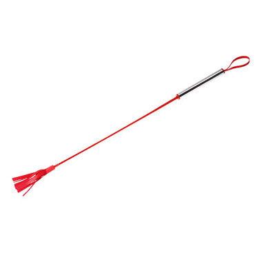 Sitabella стек красный, Длинный, с металлической рукояткой