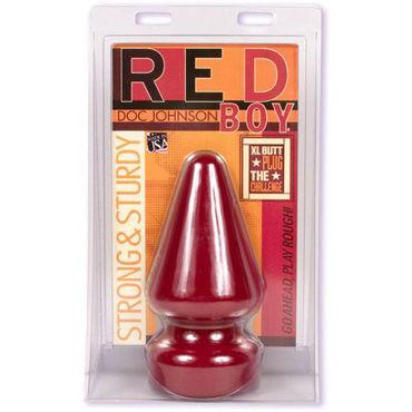 Doc Johnson Red Boy Огромная анальная пробка