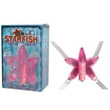 Doc Johnson Li'l Starfish, розовый, Клиторальный стимулятор в форме звезды