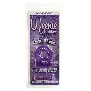 Doc Johnson Weenie Wrapper Эрекционное кольцо с вибрацией