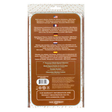 Doc Johnson Chocolates Pleasure Kit Набор из вибратора, виброяйца, стимулятора
