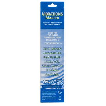 Doc Johnson Vibrations Master Прямой вибратор с выступами