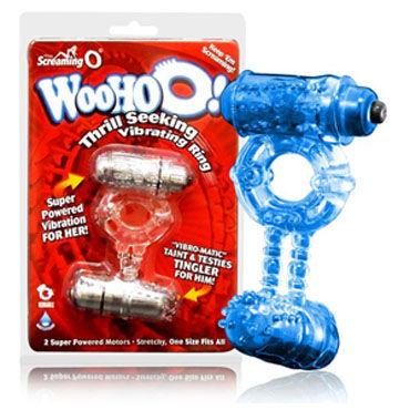 The Screaming O Woo Hoo Эрекционное кольцо с двумя виброэлементами