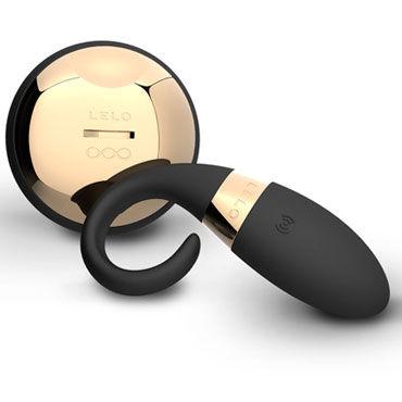 Lelo Oden, черный Виброкольцо на пенис с дистанционным управлением