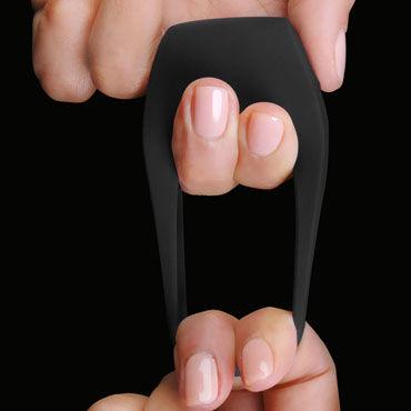 Lelo Tor 2, черный Перезаряжаемое эрекционное кольцо с вибрацией, водонепроницаемое