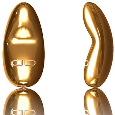 Lelo Yva Gold Роскошный клиторальный массажер из золота