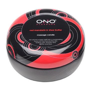 Lelo Ono красный мандарин, 125 гр Массажная свеча с чувственным ароматом