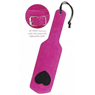 Pipedream Pink Luv розовый Стек с сердечком