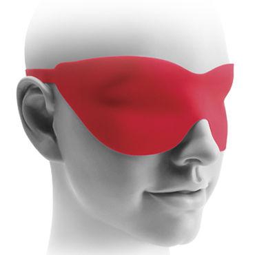 Pipedream Fetish Fantasy Elite 20 см, черная Вибрирующая насадка для страпона + маска