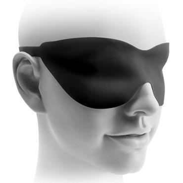 Pipedream Fetish Fantasy Elite 22,5 см, черная Водонепроницаемый стимулятор с загнутой головкой + маска