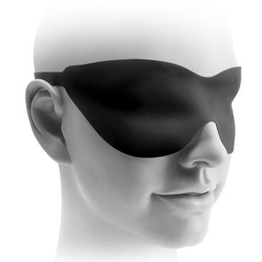 Pipedream Fetish Fantasy Elite 25 см, черная Стимулятор на присоске, водонепроницаемый + маска