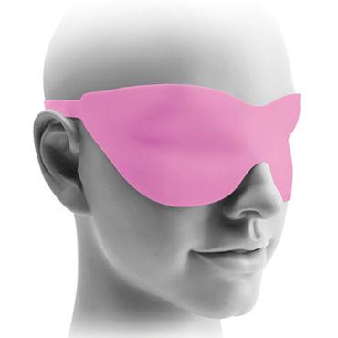 Pipedream Hollow Strap-on 15 см, розовый Полый фаллоимитатор с ремешками + маска