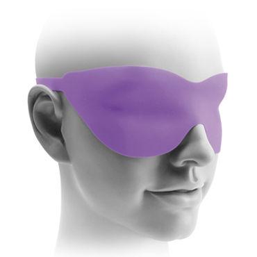 Pipedream Vibrating Hollow Strap-on 15 см, фиолетовый Полый фаллоимитатор с вибрацией + маска