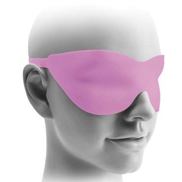 Pipedream Fantasy Love Mask, розовая Маска на застежках
