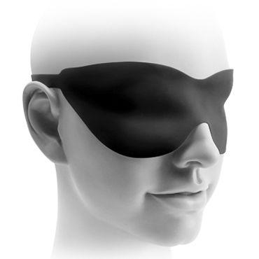 Pipedream Fetish Fantasy Elite 20 см, черная Стимулятор на присоске, водонепроницаемый + маска