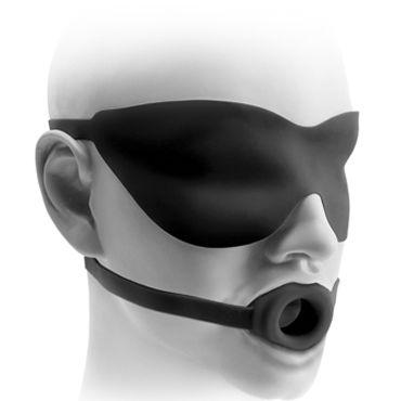 Pipedream Small Gag & Mask 1,5 Кляп-расширитель и маска