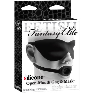 Pipedream Small Gag & Mask 1,5, ����-����������� � �����