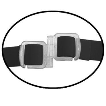 Pipedream Vibrating Hollow Strap-on 25 см, черный Полый фаллоимитатор с вибрацией + маска