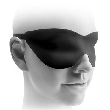 Pipedream Fetish Fantasy Elite 25 см, черная Водонепроницаемый стимулятор с загнутой головкой + маска