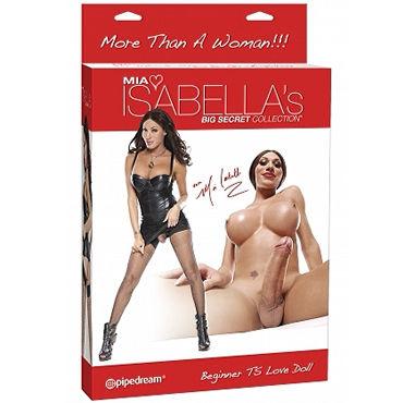 Pipedream Mia Isabella Резиновая кукла с грудью и фаллосом