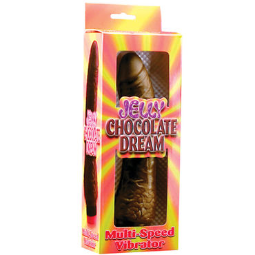 Pipedream Chocolate Dream 19 см Реалистичный вибратор с мошонкой