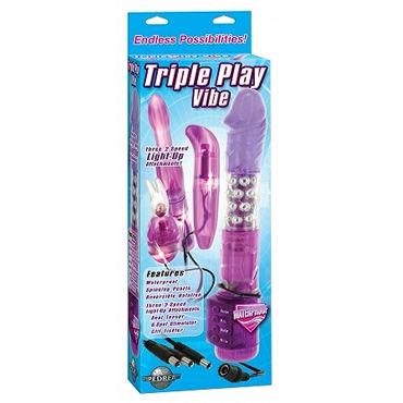 Pipedream Triple Play Vibe Набор разнообразных вибраторов