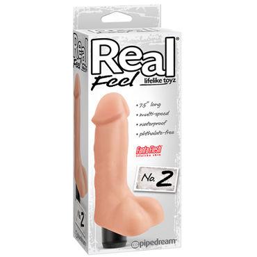Pipedream Real Feel № 2 Реалистичный мультискоростной вибратор