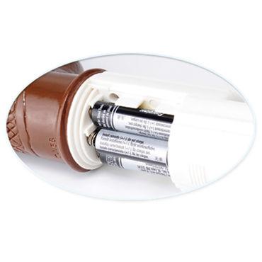 Pipedream Jelly Eager коричневый Вибратор с функцией ротации