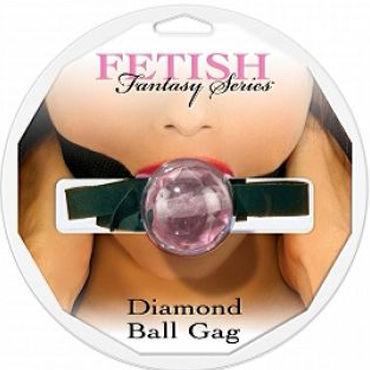 Pipedream Diamond Ball Gag розовый Кляп с регулируемым ремешком