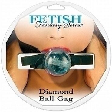 Pipedream Diamond Ball Gag голубой Кляп с регулируемым ремешком