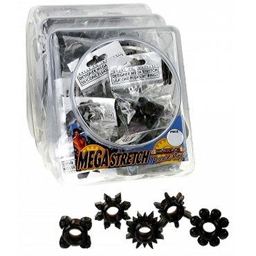 Pipedream Mega Stretch Ring черный Эрекционное кольцо