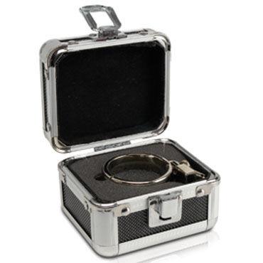 Pipedream Metal Medium Cockring Эрекционное кольцо с замочком