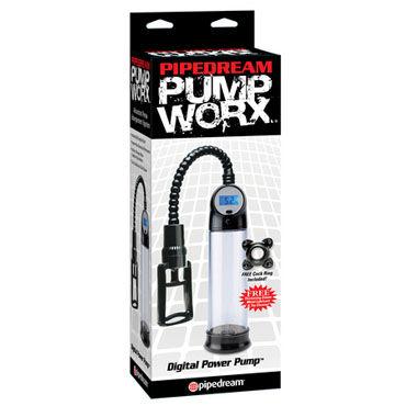 Pipedream Digital Power Pump Помпа для мужчин с датчиком